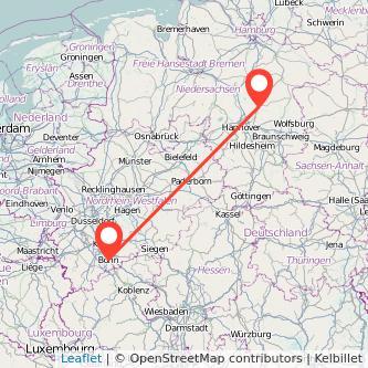 Bonn Celle Bahn Karte