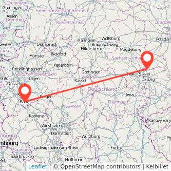 Bonn Bitterfeld Bahn Karte