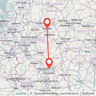 Билефельд Франкфурт-на-Майне