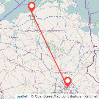 Berlin Warnemünde Bahn Karte