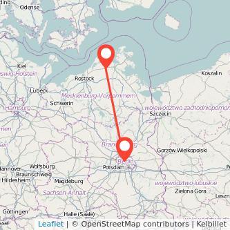 Berlin Velgast Bahn Karte