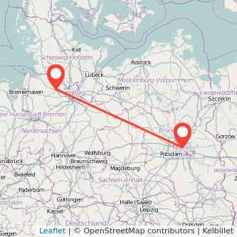 Berlin Stade Mitfahrgelegenheit Karte