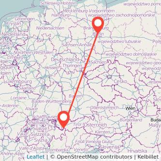 Berlin Ischgl Bus Karte