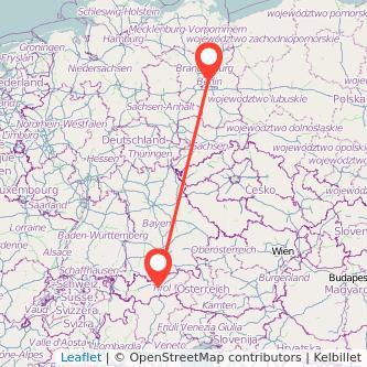 Berlin Innsbruck Bahn Karte
