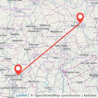 Berlin Offenbach Mitfahrgelegenheit Karte