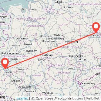 Berlin Frechen Mitfahrgelegenheit Karte