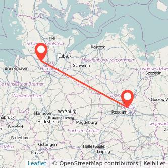 Berlin Elmshorn Mitfahrgelegenheit Karte
