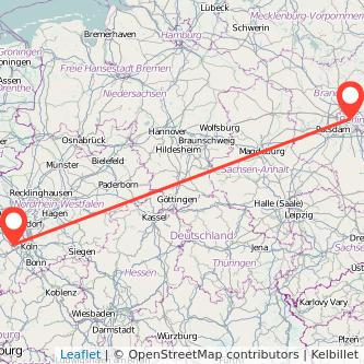 Berlin Bergheim Mitfahrgelegenheit Karte