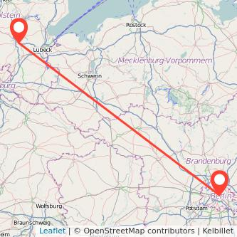 Berlin Bad Segeberg Bus Karte
