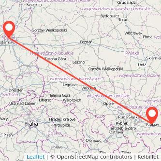 Berlin Krakau Mitfahrgelegenheit Karte