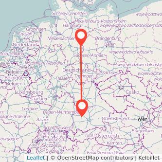 Augsburg Wolfsburg Bahn Karte