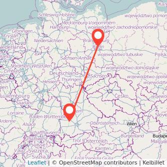 Augsburg Berlin Bahn Karte