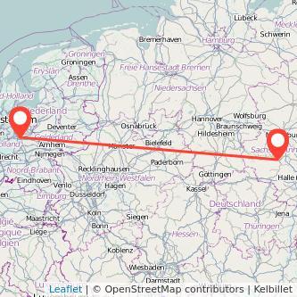 Aschersleben Utrecht Bus Karte