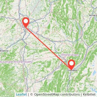 Grenoble Lyon