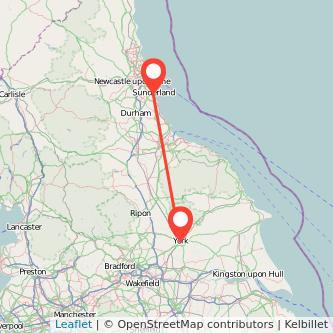 York to Sunderland train Gopilicouk