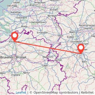 Антверпен Кёльн