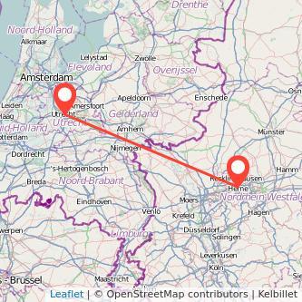 Utrecht Herne Bus Karte
