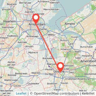 Utrecht Amsterdam