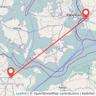 Malmö Kiel Bus Karte