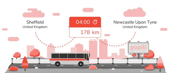Bus Sheffield Newcastle upon Tyne