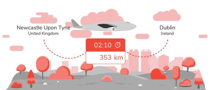 Flights Newcastle upon Tyne Dublin