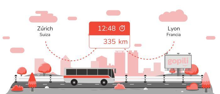 Autobuses Zúrich Lyon
