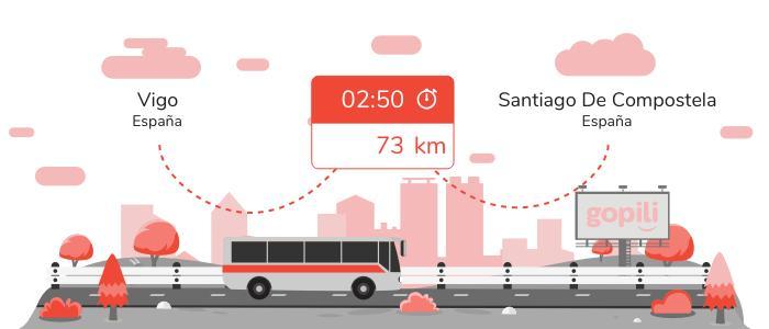 Autobuses Vigo Santiago de Compostela