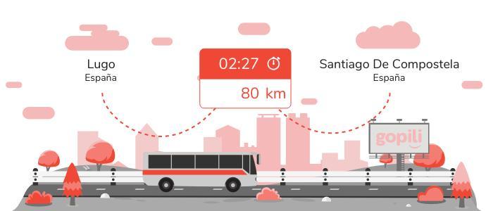 Autobuses Lugo Santiago de Compostela